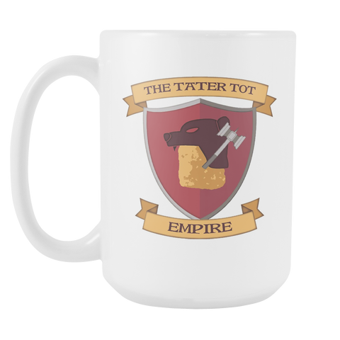 SotA Guilds - Tater Tot Empire - White 15oz Mug