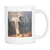"""Mountain Pass"" White Mug - Shroud of the Avatar ™ - Relics by Rild"