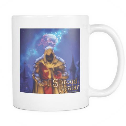 Shroud of the Avatar ™ White Mug