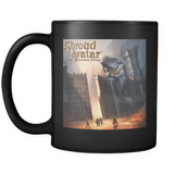 Black Coffee Mug Left