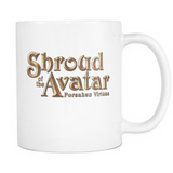 Shroud of the Avatar Logo White Mug
