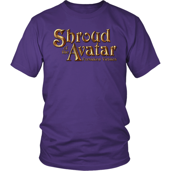 Shroud of the Avatar Title Logo Men's Shirt