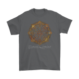 Fiery Magic Sigil Mens Tee