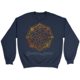 Fiery Magic Sigil Crewneck Sweatshirt