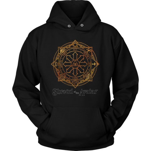 Fiery Magic Sigil Hoodie