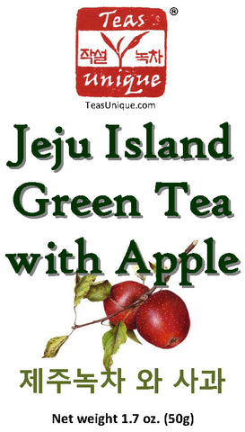 Jeju Island Green Tea with Apple