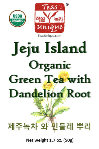 Jeju Island Green Tea with Dandelion Root