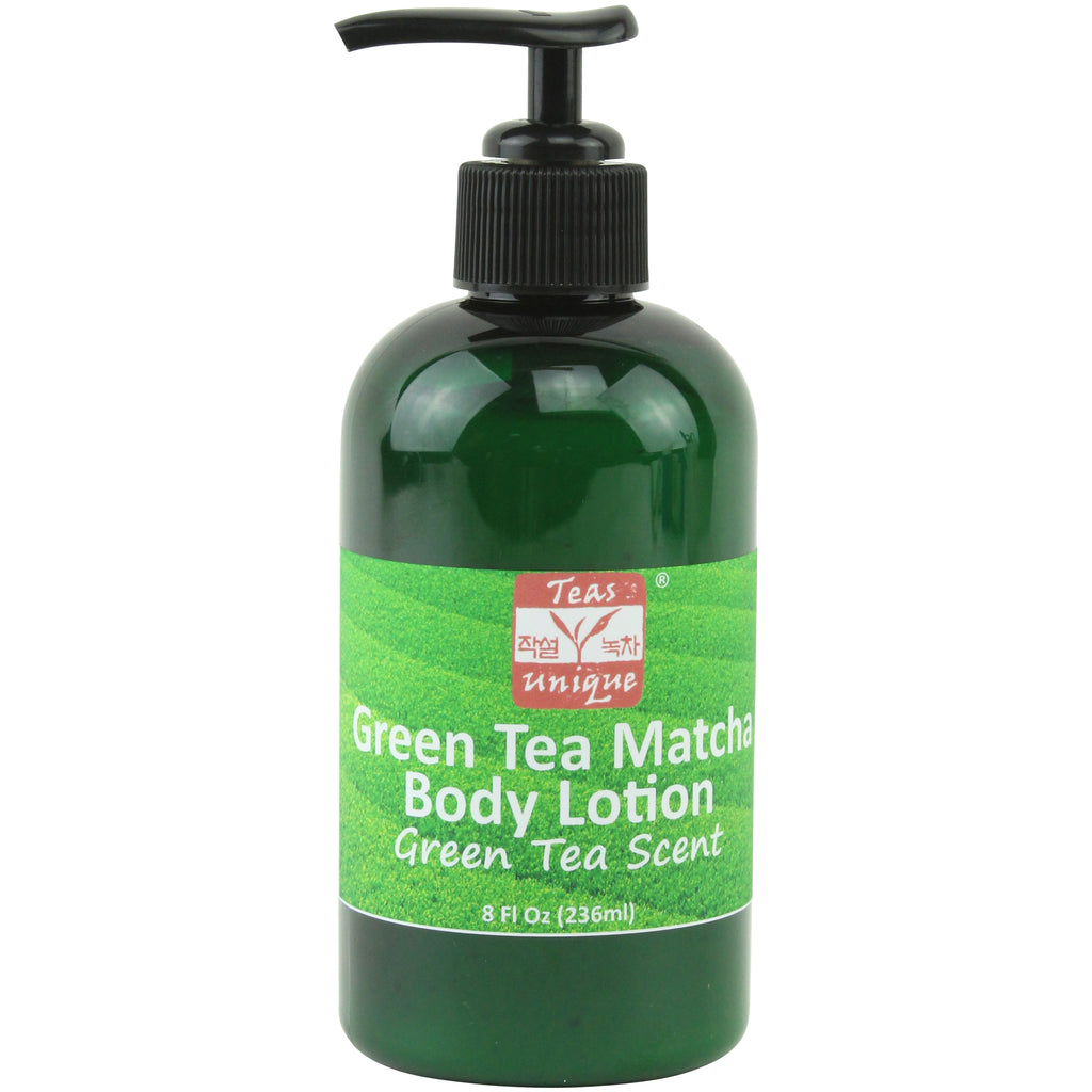 Green Tea Matcha Body Lotion, Green Tea Scent, 8 Fl Oz