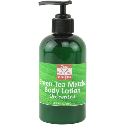 Green Tea Matcha Body Lotion, Unscented, 8 Fl Oz