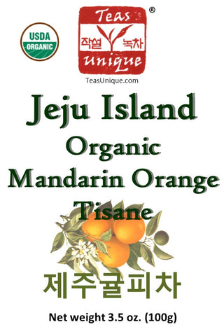 Jeju Island Organic Mandarin Orange Tisane Herbal Tea
