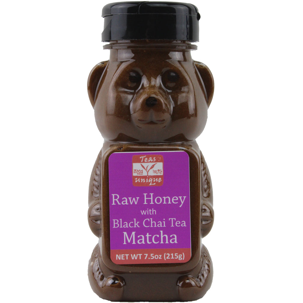 Raw Honey with Black Chai Tea, 215g