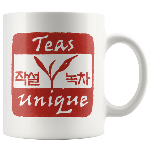 """Teas Unique"" 11oz Ceramic Mug"