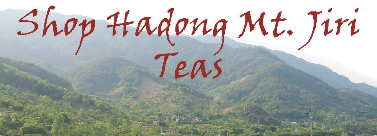Shop Hadong Mt. Jiri Teas