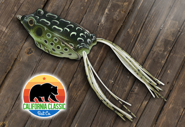 IN THE BOX - California Classic Delta Frog – LUCKY TACKLE BOX