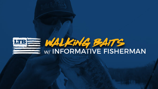 Fishing a Walking Bait