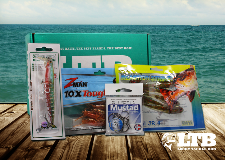 Previous boxes page 10 lucky tackle box for Fishing mystery box