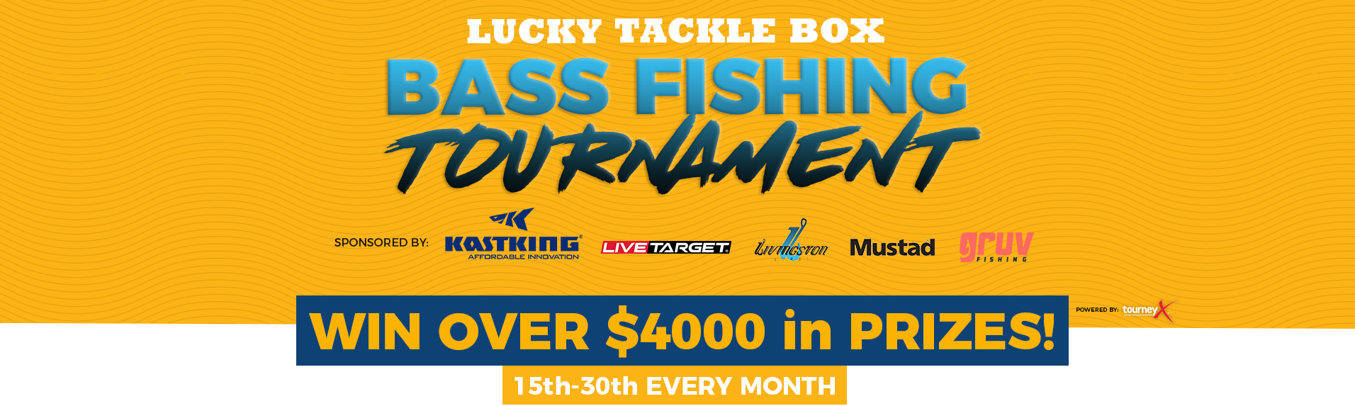 Lucky Tackle Box Bass Fishing Tournament