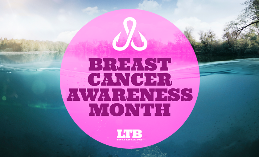 Lucky Tackle Box and Mustad Team-Up for Breast Cancer Awareness Month