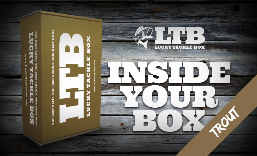 Inside Your Box Trout Lucky Tackle Box