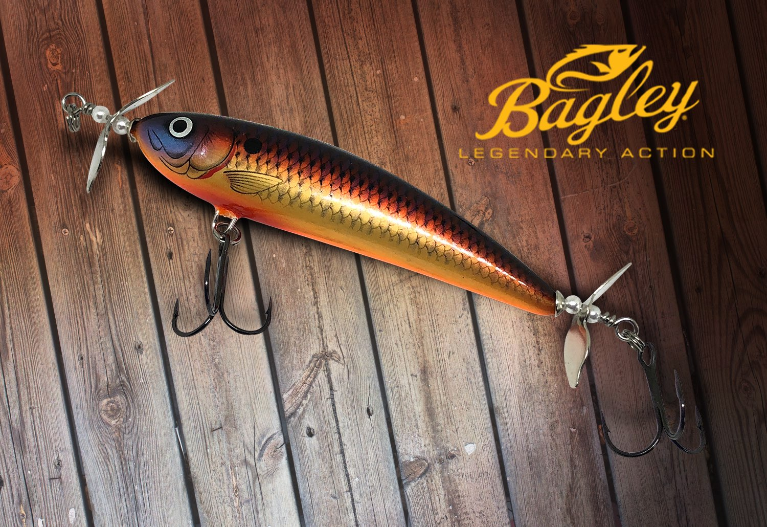 IN THE BOX - Bagley Baits Twin Spin – LUCKY TACKLE BOX