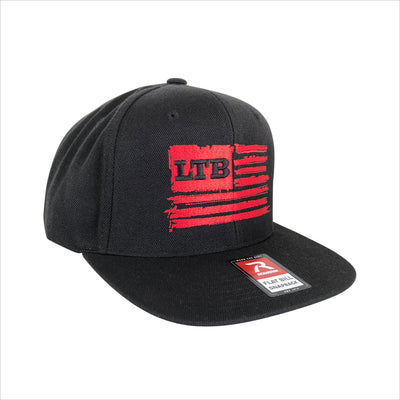 LTB Flag Hat - Black/Red