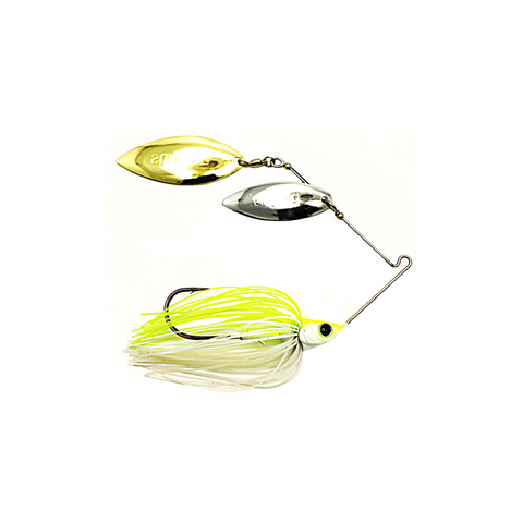 D-Blade Advantage Spinnerbait 1/2 OZ (White/Chart)