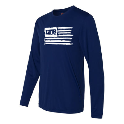 LTB Flag UV Shirt - Navy/White Flag