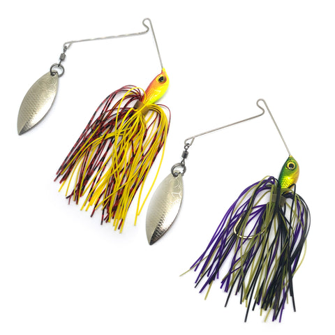 Lunar Moonwalk Spinnerbaits, 2 count (Asst Colors)