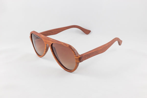 Red Sandalwood Aviators