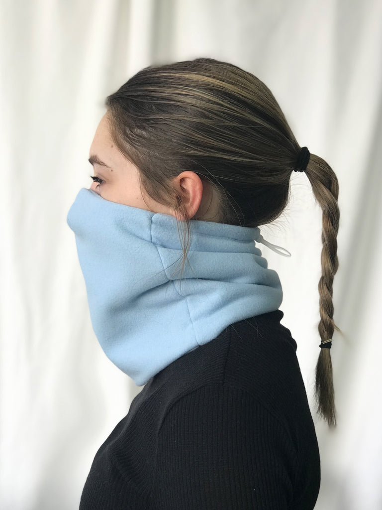 Le cache-cou avec filtre intégré / The Neck warmer with integrated filtre