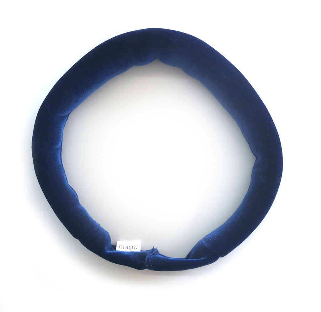 Le bandeau auréole en velours / The Velvet Halo Headband