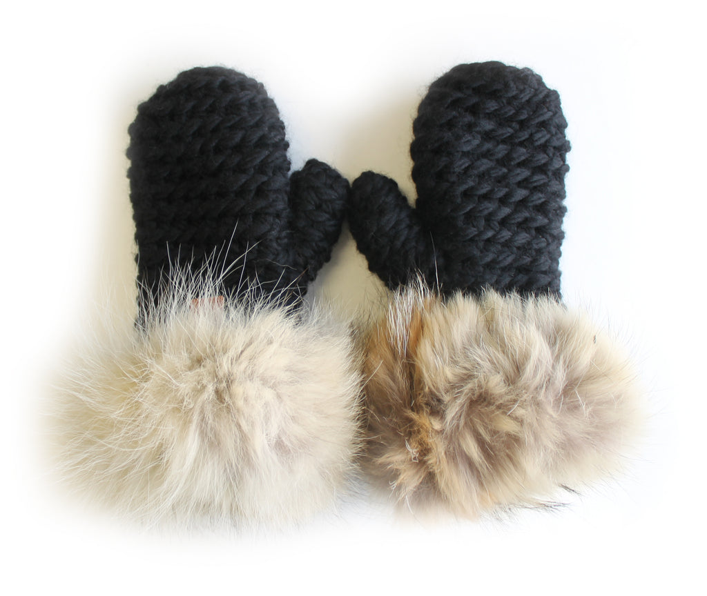 Les mitaines de coyote / The Coyote Mittens
