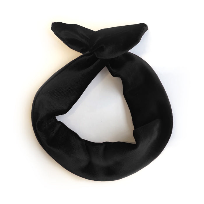 Le bandeau à torsader édition velours / The Velvet Edition of the Twisted Headband