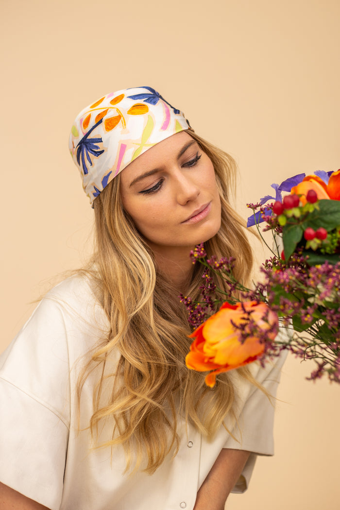 Le foulard floral / The Floral Scarf
