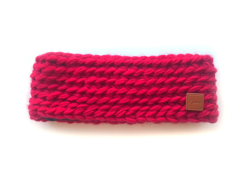 Le bandeau tricoté / The Knitted Headband
