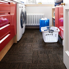 Carpet Tile Laundry Room