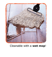 TAS Flooring Equinox is Wet Moppable