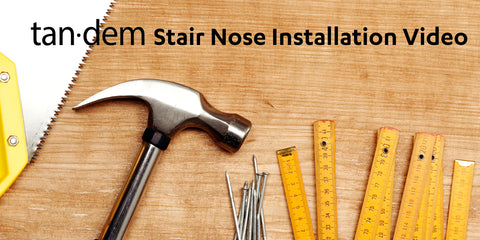 Tandem Stair Nose Installation Video Moulding Trim Transition