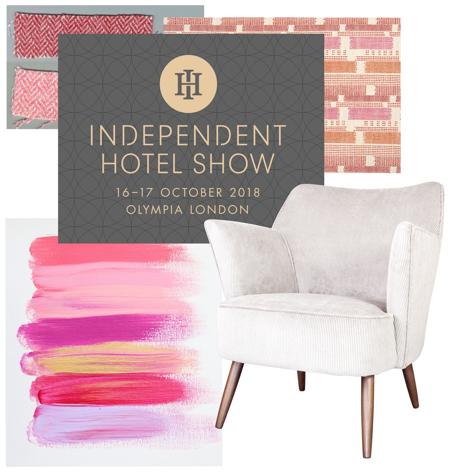 We're a Design Partner at the Independent Hotel Show 2018