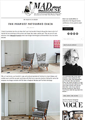Mad About The House - The Perfect Patterned Chair