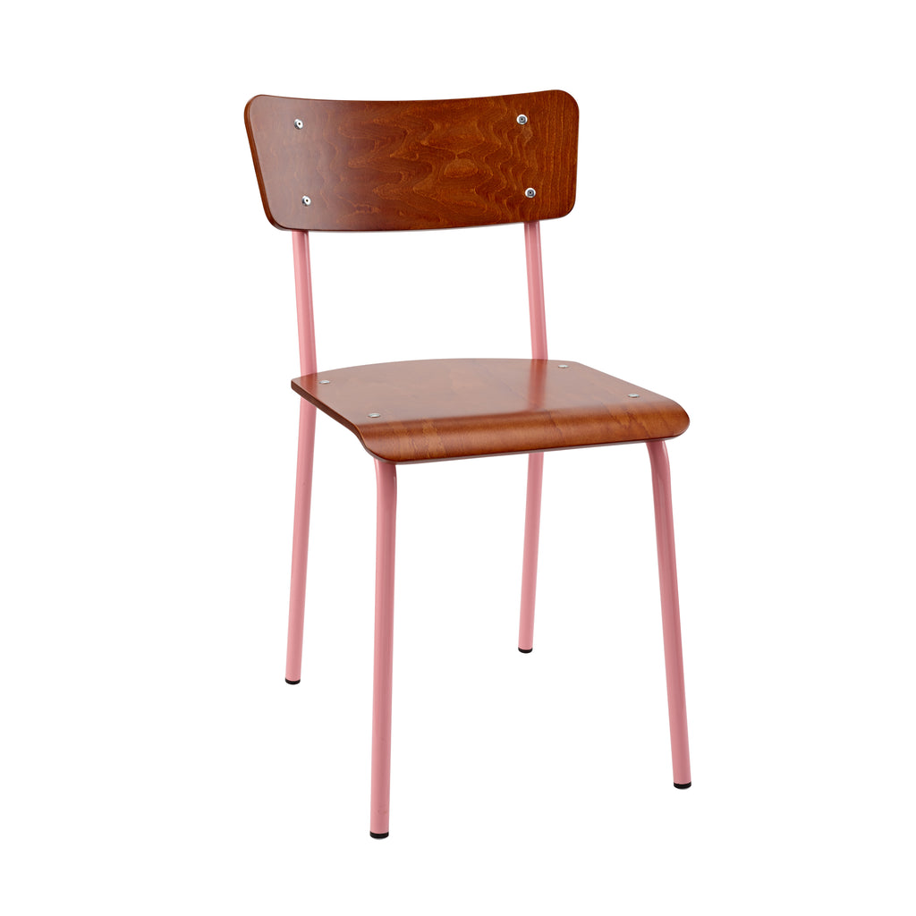 The Original Contemporary School Chair - Mahogany 10