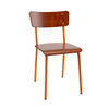 The Original Contemporary School Chair - Mahogany 11