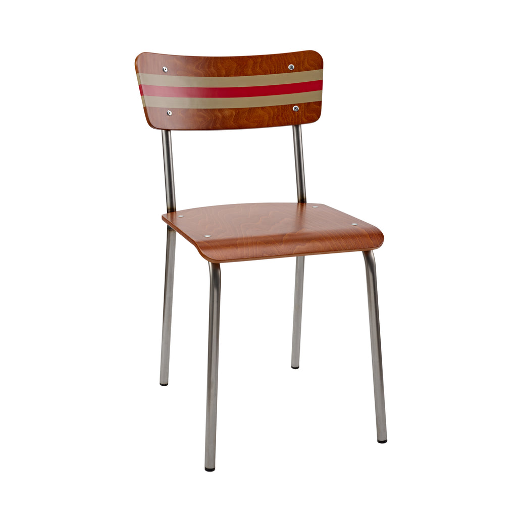 The Original Contemporary School Chair - Stripe 18