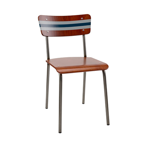 The Original Contemporary School Chair - Stripe 33