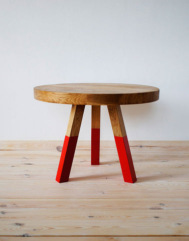 Baby Octopus Solid Oak Coffee Table