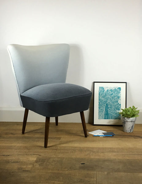 Galapagos Bartholomew Chair in Graphite Padua Linen