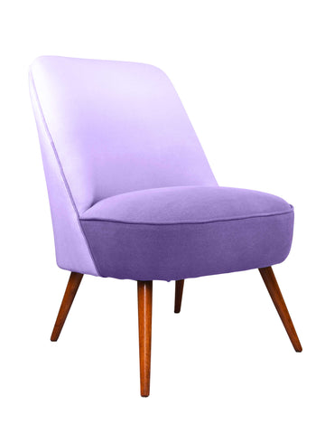 New Slipper Cocktail Chair in Crocus Padua Linen