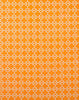 Fabric Swatch - Korla's fabulous linen-cotton fabric in Ayers Tangerine