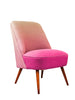 The Bartholomew Chair in Ombre Linen