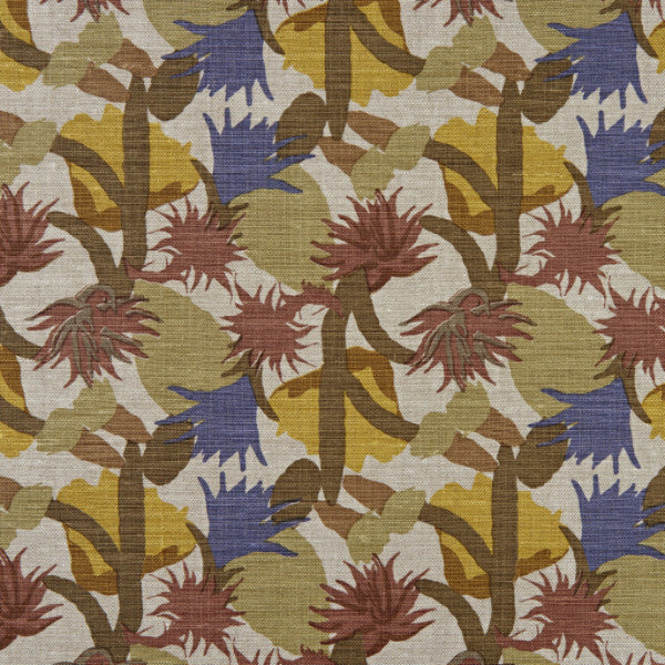 Free Fabric Samples at Galapagos - Christopher Farr Cactus Flower Lemon